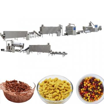 Breakfast Cereal Frosted Sugar Coated Crispy Corn Flakes Machine Corn Chips Processing Line Extruder