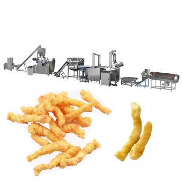 Fried Nik naks Kurkure Snacks Making Extruder Machine